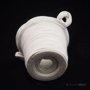 画像2: 綱木紋・ミニ小鉢3.5・オフホワイト〜ライトグレー