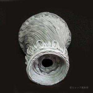 画像2: 綱木紋・鉢・丸鉢・ライトグレーLロング