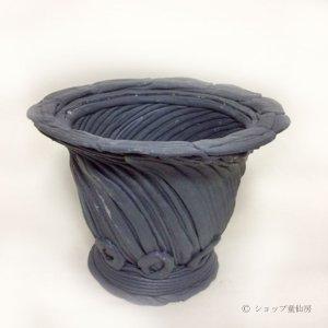 画像1: 綱木紋・鉢・丸鉢・グレー系 S