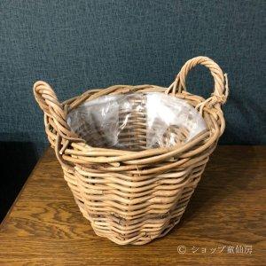 画像2: ラタンバスケット・M
