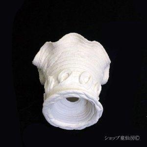 画像4: 綱木紋・鉢・フリル丸鉢・オフホワイト〜ライトグレー S
