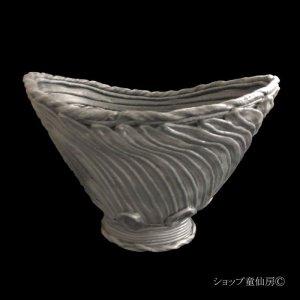 画像2: 綱木紋・鉢・VIVI・グレー