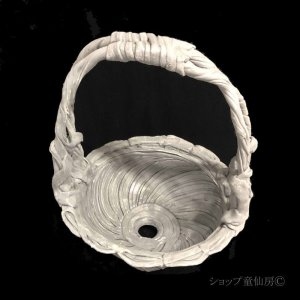 画像2: 綱木紋・鉢・ハイジL・グレー