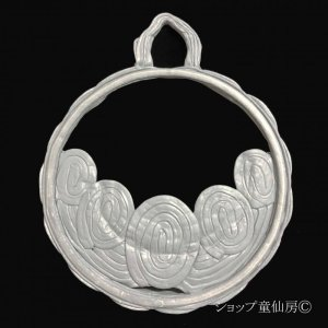 画像3: 綱木紋・鉢・ムーンライトL・グレー