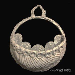 画像1: 綱木紋・鉢・ムーンライトL・グレー