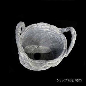 画像2: 綱木紋・鉢・バスケット・グレー